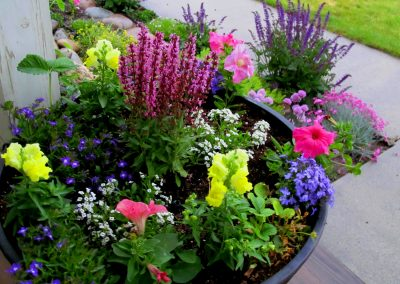 Annual Planter Design - Bozeman, Montana
