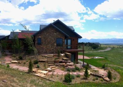 Montana Flagstone Steps - Gallatin Valley, Montana