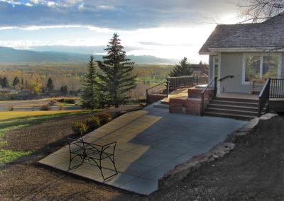 Modern Paver Patio - Bozeman, Montana