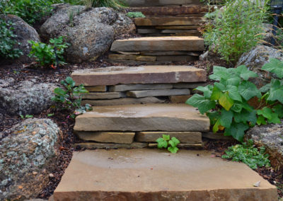 Flagstone Steps - Bozeman, Montana