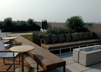 Rooftop Landscaping - 5 West, Bozeman