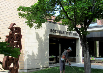 Lawn Mowing - Bozeman City Hall