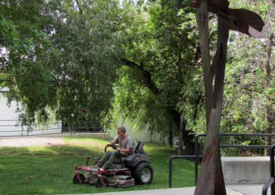 Lawn Maintenance - Downtown Bozeman