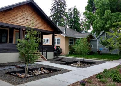 Rain Garden Design - Bozeman, Montana