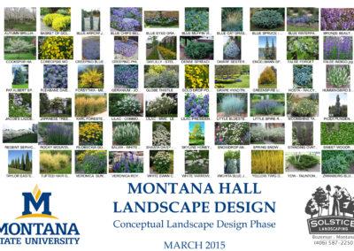 Garden Design - Montana Hall - Bozeman
