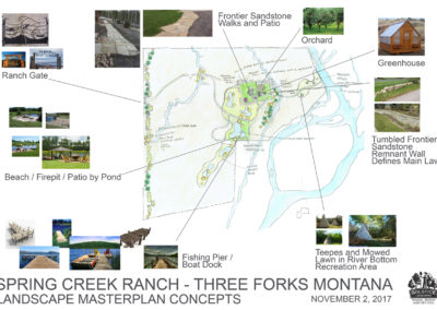 Ranch Landscaping Design - Montana