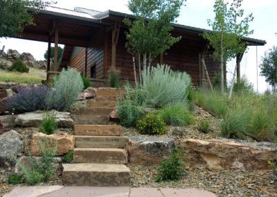 Rustic Landscaping Design - Bozeman, Montana