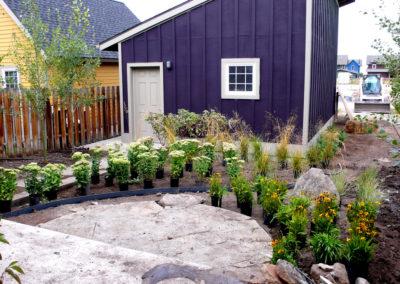 Garden Installation - Bozeman, Montana