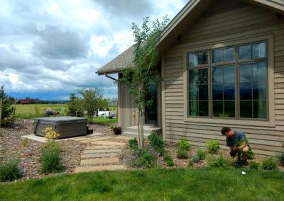 Garden Perennial Planting - Bozeman, Montana