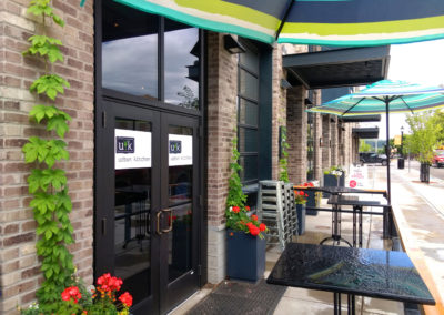 Annual Planter Design and Flower Planting - Urban Kitchen Bozeman, Montana