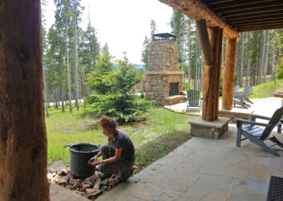 Weeding and Garden Service - Yellowstone Club, Big Sky, Montana