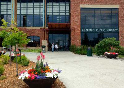 Bozeman Library Annual Planters Designer