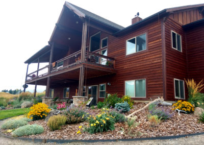 Drought Tolerant Landscape Design - Bozeman, Montana