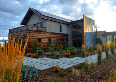 Water Conserving Landscaping Design- Bozeman, Montana