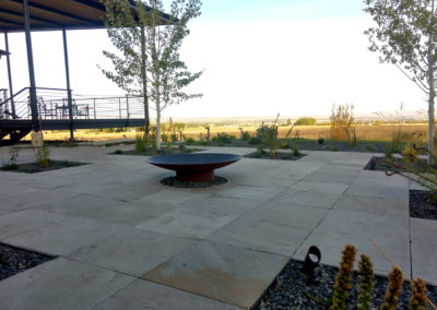 Modern Flagstone Patio - Bozeman, Montana