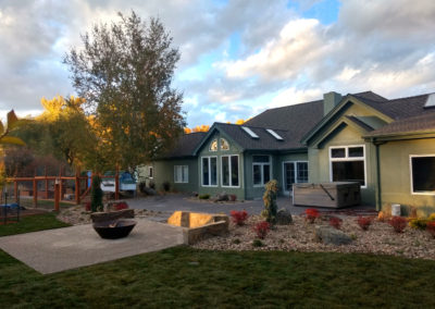 Fire Pit and Paver Patio - Bozeman, Montana