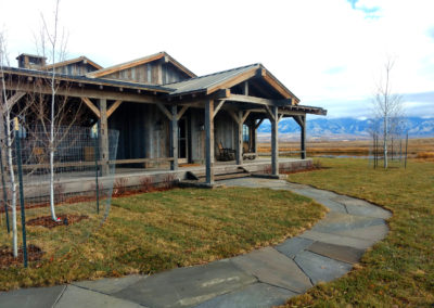 Windsor Gray Flagstone Path - Gallatin Valley, Montana
