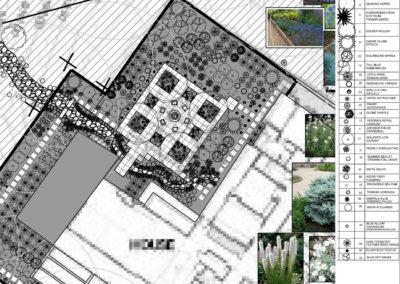 Modern Patio Landscape Design - Bozeman, Montana