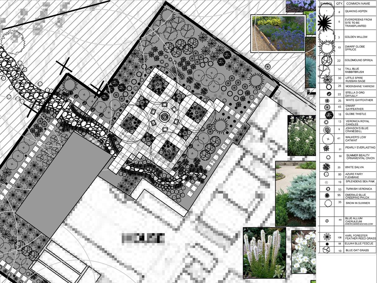 Modern Patio Landscape Design Bozeman Montana Solstice Landscape